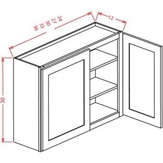 "30"" High Wall Cabinets - Double Door"