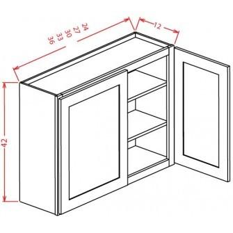 "42"" High Wall Cabinets - Double Door"
