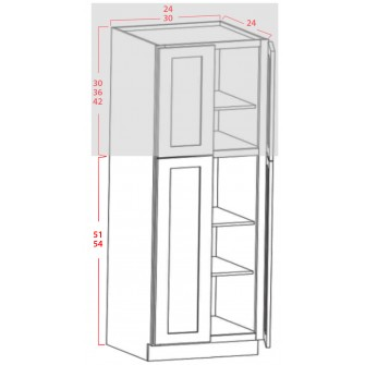 Bottom Utility Cabinets - 4 Doors