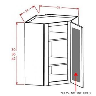 Glass Door For Open Door Frame Diagonal Corner Wall Cabinets
