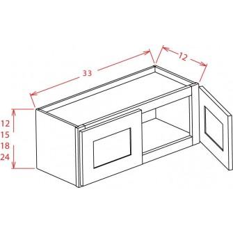 "33"" Bridge Cabinets"
