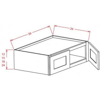 "36"" Refrigerator Wall Cabinets"