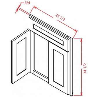 Sink Bases - Diagonal Sink Front