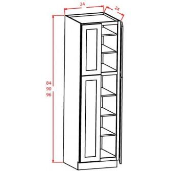Utility Cabinets - 4 Doors