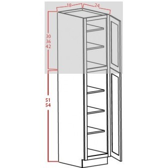 Bottom Utility Cabinets - 2 Doors